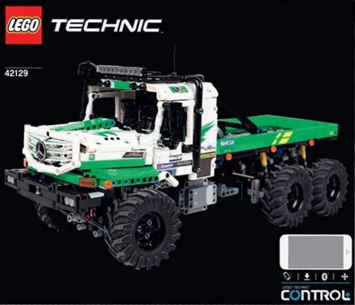 LEGO Technic 42129 mercedes benz zetros trial truck