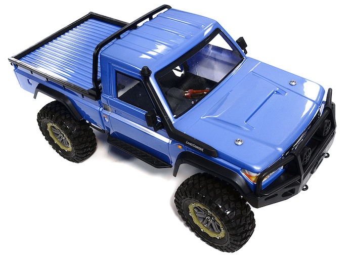 Integy LC10 Pro Edition RTR Scale BLUE