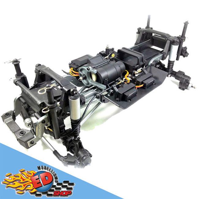 Abisma: SHERPA Crawler CR3.4 - Chassis Kit Preassemblato