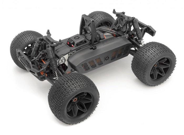 HPI- Savage X V2 GT6 Brushless and Nitro Monster Truck
