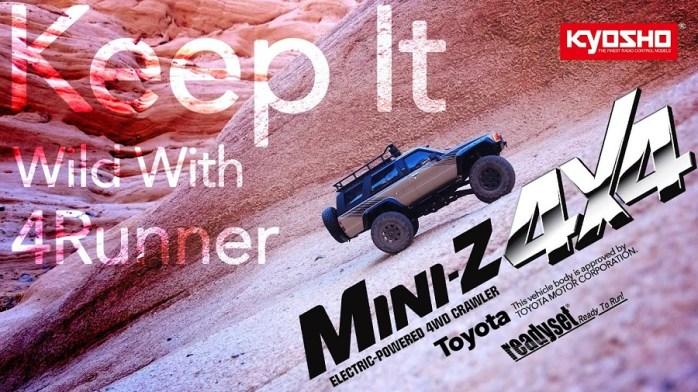 Kyosho: Toyota 4Runner MiniZ 4×4 - Video