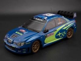 Killerbody: Subaru Impreza WRC 2007 - Carrozzeria in scala 1/10 pre-verniciata