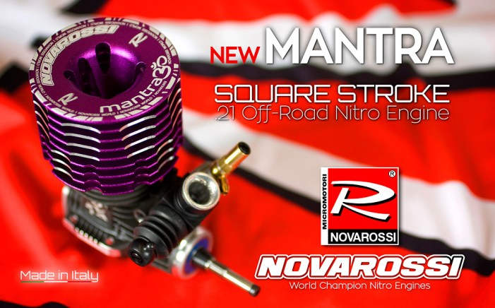 Novarossi square stroke off-road Mantra Engine