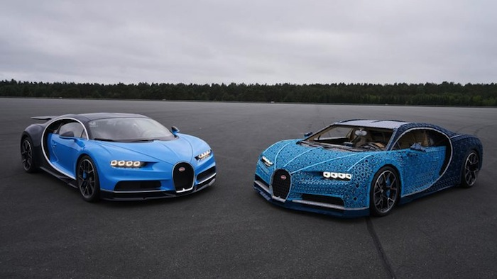 The Amazing Life size LEGO Technic Bugatti Chiron!