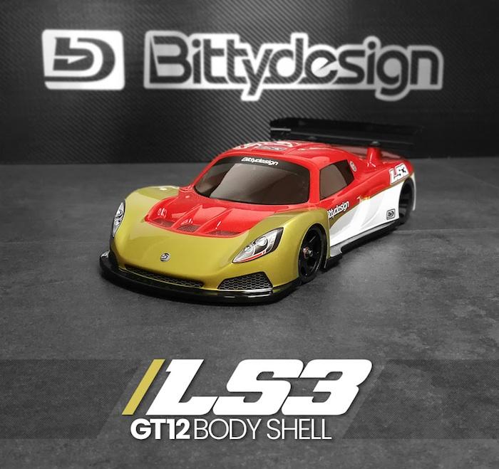 Bittydesign: LS3 GT12 class body shell