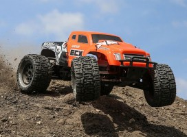 ECX Ruckus Monster Truck: new body and electronics