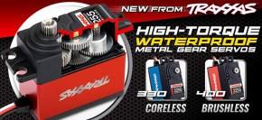 New Traxxas 2250 & 2255 High Torque waterproof Servos