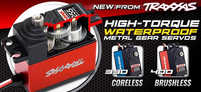 High-Torque waterproof servos