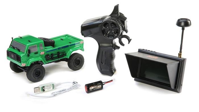 ECX- Barrage UV FPV scaler crawler SET