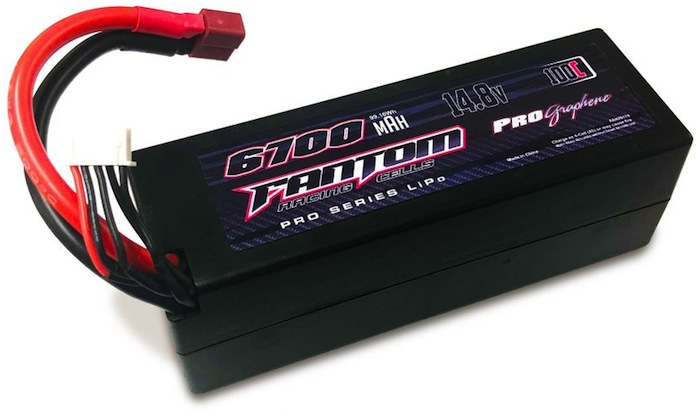 Fantom 6700mAh Pro Series Graphene LiPo battery