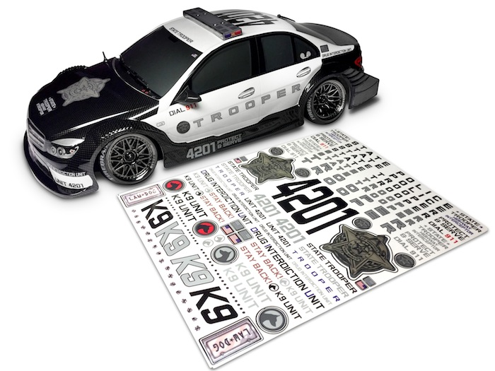 Fire Brand RC: State Trooper decal kit