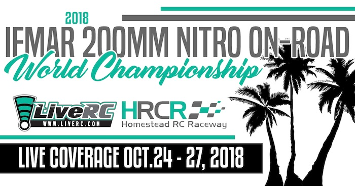 live streaming: 2018 IFMAR 1/10 200mm On-Road World Championships