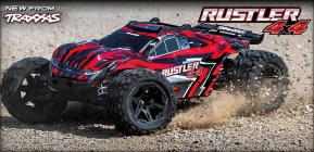 TRAXXAS New RUSTLER 4×4 Brushed Stadium Truck