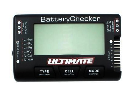 Modelix: Ultimate Racing battery checker