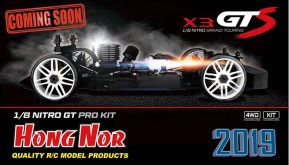 Hong Nor X3 GTS 1/8th Scale Nitro GT Pro KIT