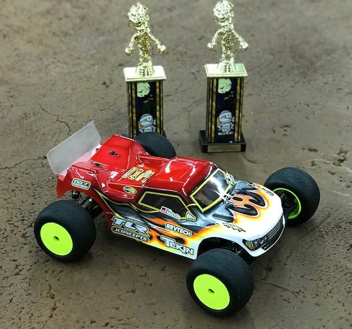 22T 4.0 setup from Gspeed Raceway and their Walking Dead Race
