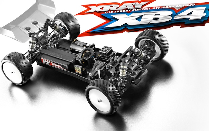 XRAY: XB4'19 1/10 scale 4wd buggy
