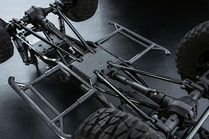 MST CFX-W JP1 1/10th Scale Crawler Kit - Hobbymedia