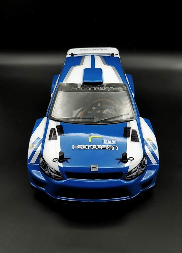 RCON Design: R4WRC WorldRX & TCR style bodyshell