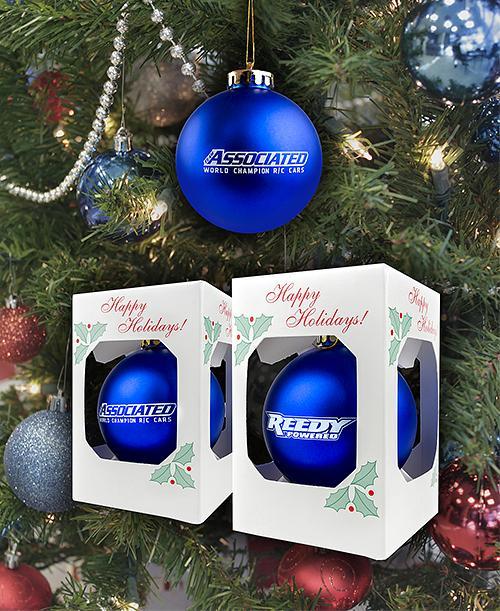Team Associated/Reedy Christmas Tree Ornaments