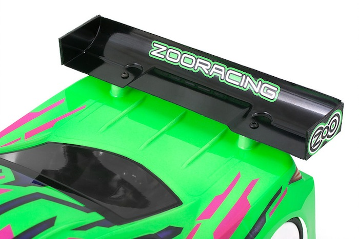 ZooRacing: PreoPard 190mm Touring Car Body 1/10