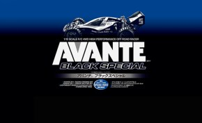 Tamiya Avante Black Special 4WD Buggy Kit