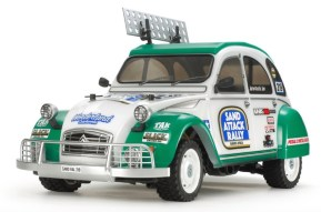 Tamiya M-05Ra Chassis Citroen 2CV Rally Body