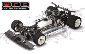 WRC Racing GTX.5 1/8th Scale On-Road Nitro Kit