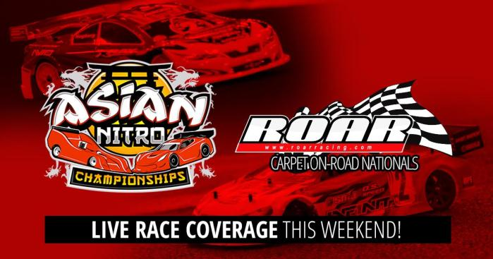 LIVE: Asian Nitro Championship and ROAR Nationals
