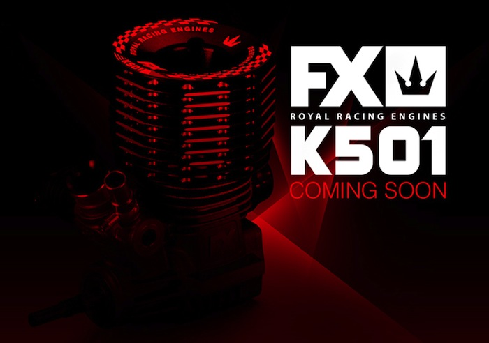 FX Engines: New K501 3.5cc nitro engine coming soon!