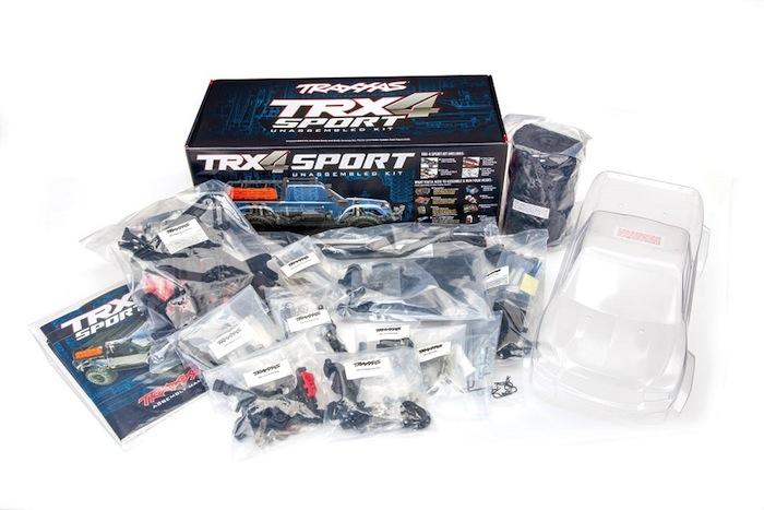 Traxxas: TRX4 Sport Unassembled Kit