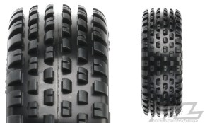 ProLine: 3 new carpet tires for 1/10th Scale Buggies
