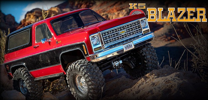 Traxxas TRX4 Blazer LED Light Kit - Video