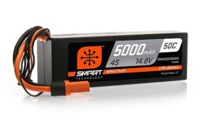 Spektrum: Smart Technology LiPo Battery Lineup is growing
