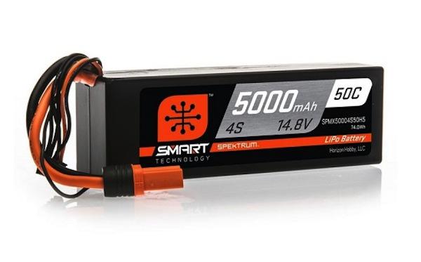 Spektrum: Smart Technology LiPo Battery Lineup is growing