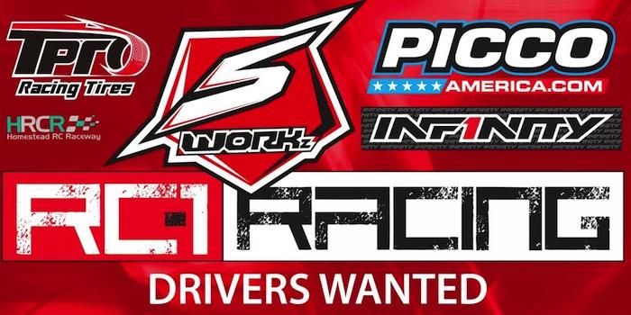 SWORKZ RC1 Racing partnership