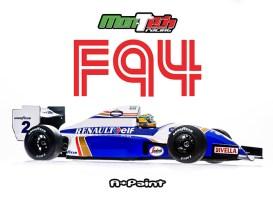 Mon-Tech Racing F94 pre-painted body shell