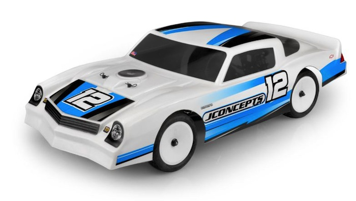 The 1978 Camaro debuted in May of 2019 at the inaugural JConcepts Spring Dirt Oval Nationals