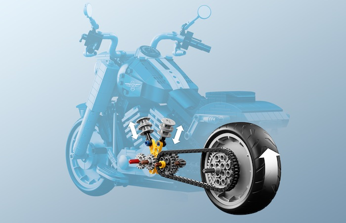 LEGO Creator Expert: Harley Davidson Fat Boy - 10269