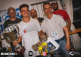 Nitro buggy: Riccardo Berton is the European Champion!!