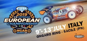 2019 EFRA 1/8th Off Road Euros: Qualifying Live!