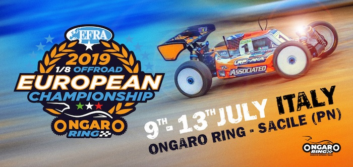2019 EFRA 1/8th Off Road Euros Live!