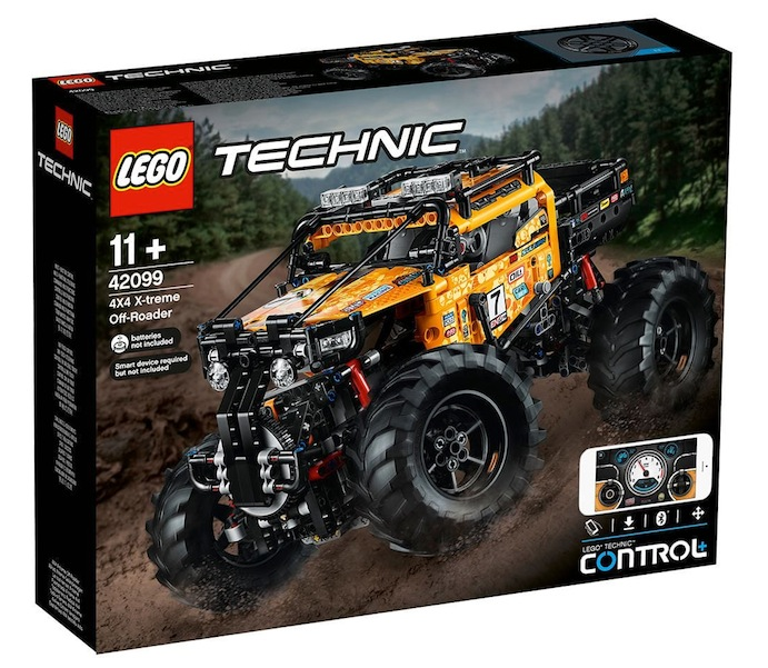 LEGO Technic: 4x4 XTreme Off-Roader with Control+ (42099)