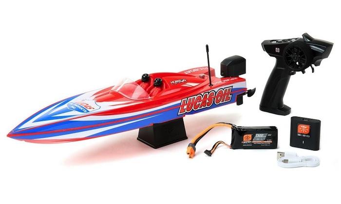 Pro Boat: Miss GEICO & Lucas Oil - Power Boat Racer
