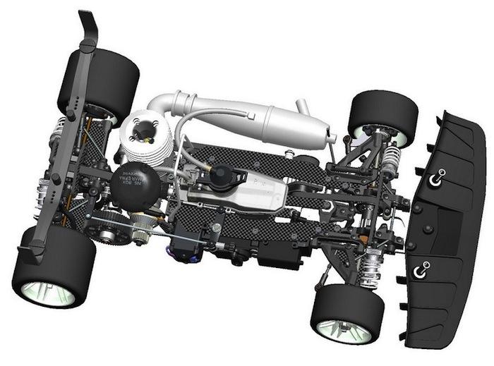 Serpent Viper 989 1/8 GP OnRoad Car