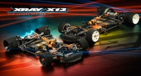 Xray X12 2020 EU and US: Pan Car 1/12th Scale Kit