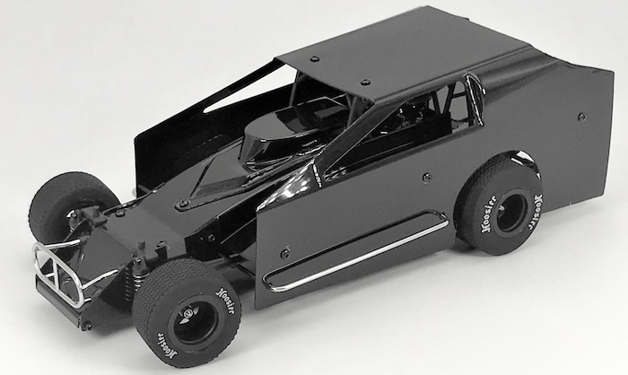1RC Racing has just released their all-new 1/18-scale Eastern Dirt Modified RTR. This adds to their popular existing 1/18-scale lineup which includes a RTR Sprint Car and Midget 2.0. The new EDM is available in black, red, or clear body versions and includes: 2.4Ghz Transmitter and Receiver Standalone ESC - Forward and Reverse with LiPo protection Full Ball Bearings 230mAh NiMh 6.0 Volt Rechargeable Battery Wall Charger - NOTE FOR AUSTRALIA CUSTOMERS YOU WILL NEED A PLUG ADAPTER 8700Kv Brushless Motor Micro Steering Servo Instruction Manual Sticker Sheet Set (Main Graphics, Number Sheet) Tool Set (Allen Wrench and Nut Driver) AA Batteries for Transmitter Available Now - $209.99 www.1rc-racing.com