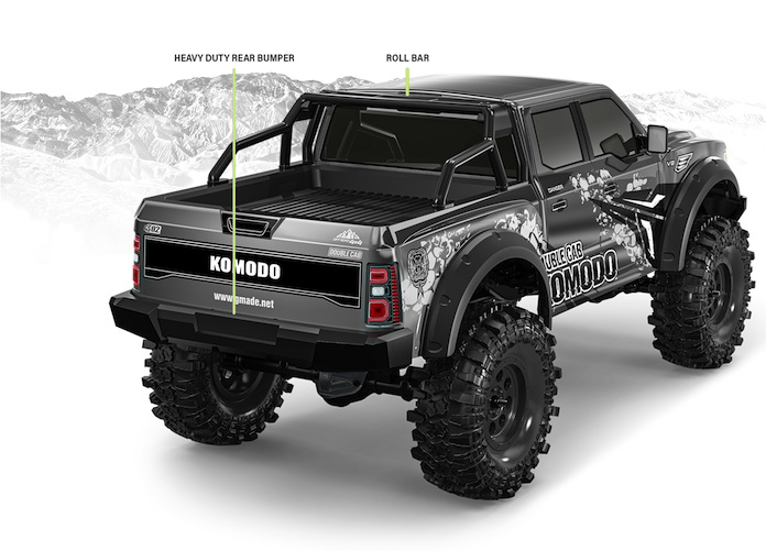 Gmade: KOMODO Double cab TS KIT - Pre order Event