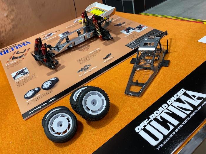 akira kogawa kyosho ultima chassis buggy tokyo hobby show 2019
