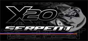 Serpent X20 4WD all-new Electric Touring Car